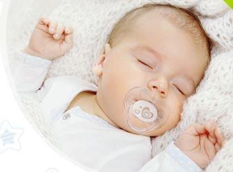 Cumlík Okrúhly Canpol Babies 0-6m - Newborn Srdiečko