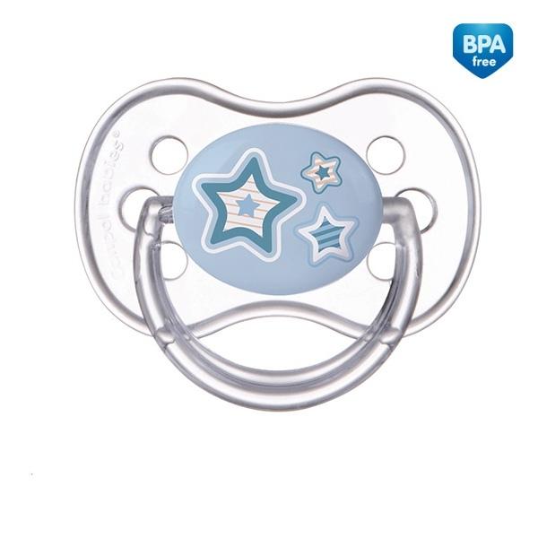 Cumlík Okrúhly Canpol Babies 0-6m - Newborn Hviezdička
