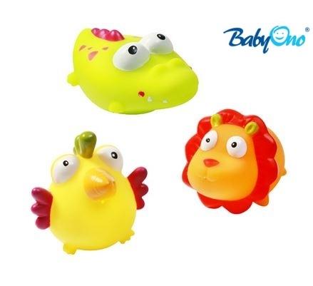 Baby Ono Veselé hračky do vody DŽUNGLE - 3m +