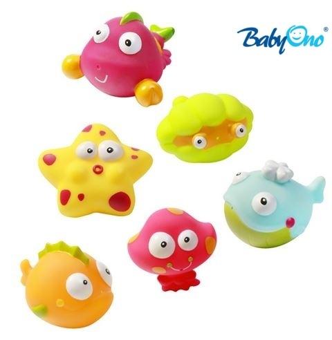 Baby Ono Veselé hračky do vody OCEÁN / MORE - 3m +