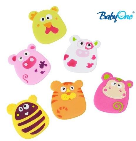 Baby Ono Veselé hračky do vody - prísavky - sada HOLKA