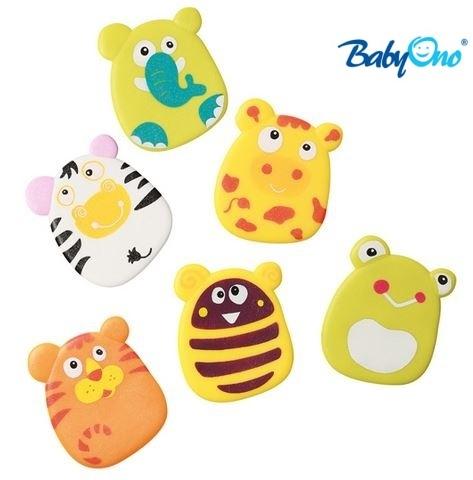 Baby Ono Veselé hračky do vody - prísavky - sada CHLAPEC