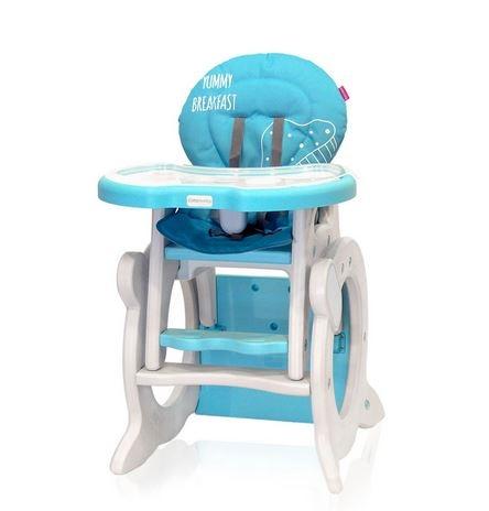 Jedálenský stolček Coto Baby Stars Q Blue