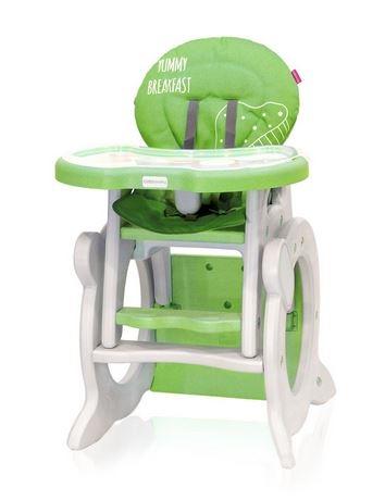 Jedálenský stolček Coto Baby Stars Q Green - 2017