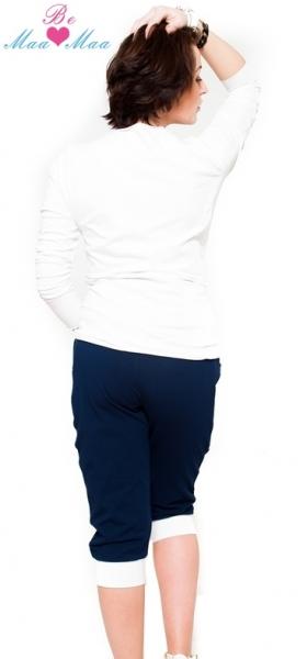 Tehotenské nohavice 3/4  Tessi - grantové