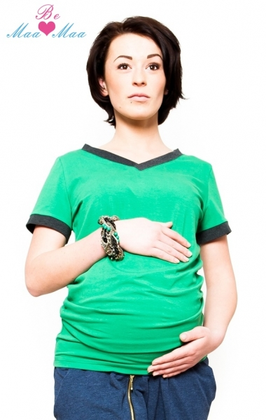 Tunika, triko EVVA - zelené-XS/L