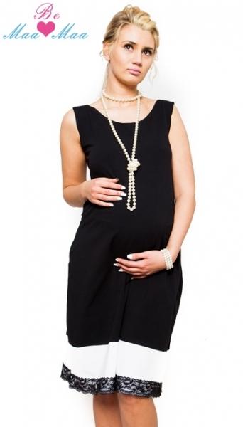 Tehotenské elegantné šaty Be Maamaa - MARIE