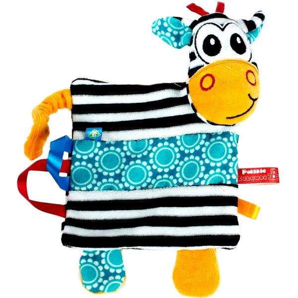 Hencz Toys Edukačný mazlík Zebra