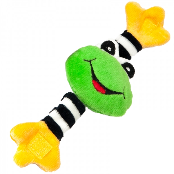 Hencz Toys Hrkálka na ručičku - žabička