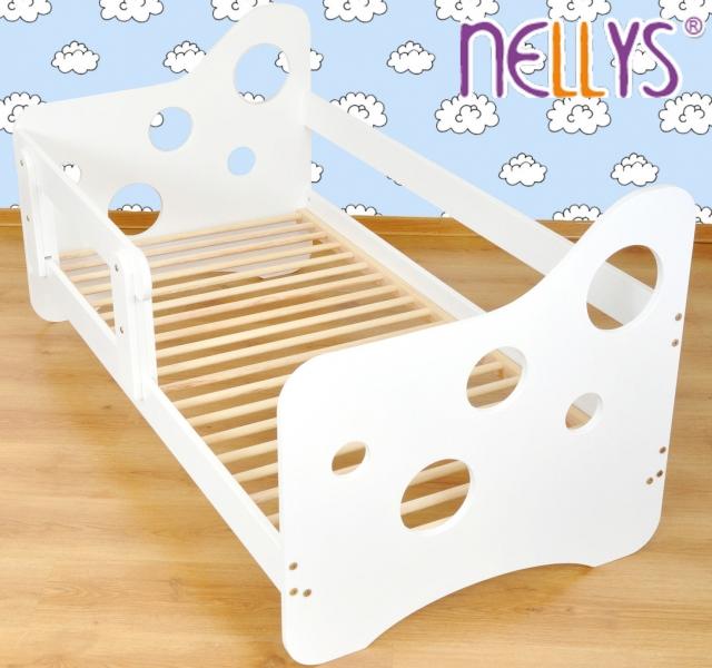 Juniorská posteľ Nellys ® Bubble biela