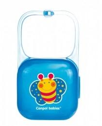 Puzdro na cumlík - modré Canpol Babies