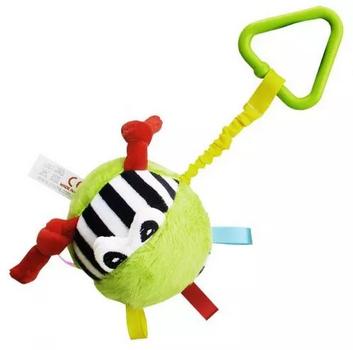 Hencz Toys Plyšová závesná hračka - Balónik s očká - mix farieb