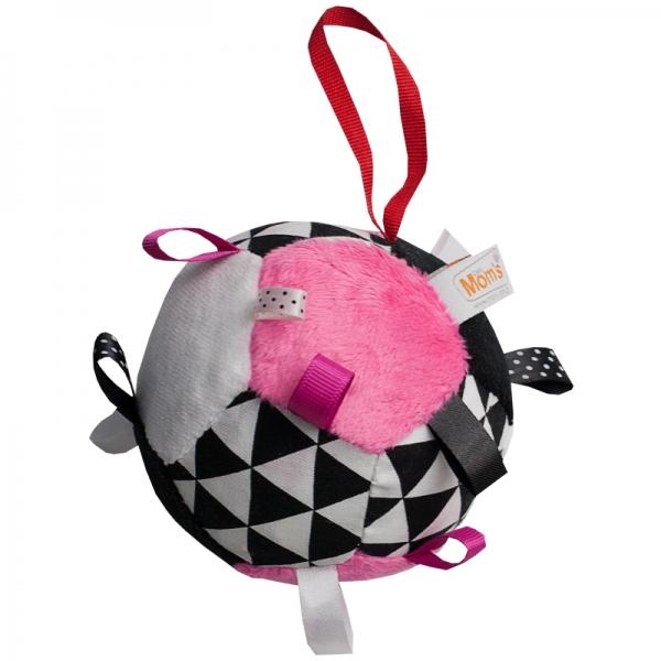 Plyšový farebný balónik - ružová