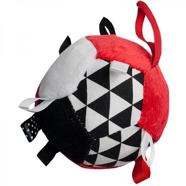 Hencz Toys Plyšový farebný balónik - červený