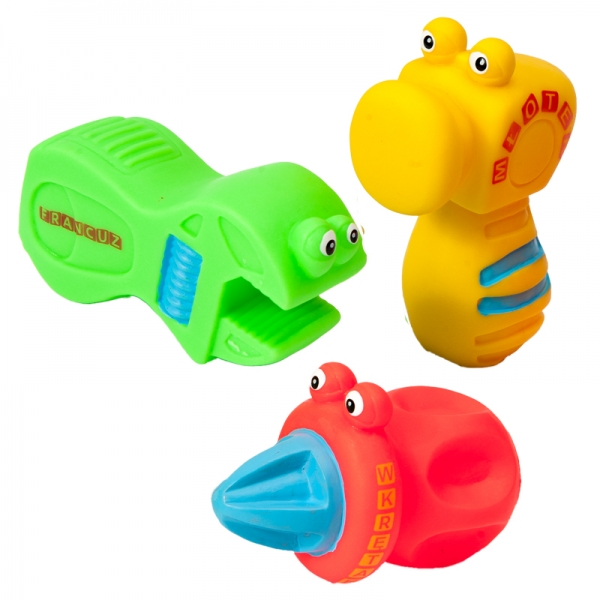 Veselá hračka do vody MINI náradia - mix - 1ks