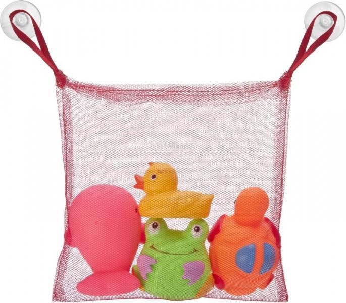 Hencz Toys Veselá hračky s sieťkou s gumovými hračkami