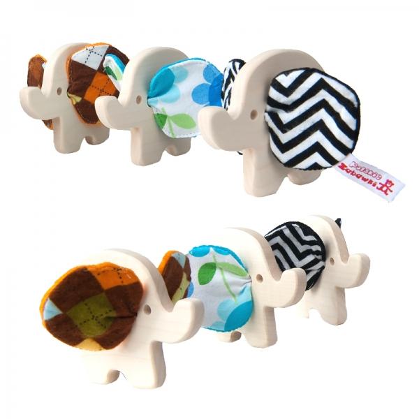 Drevená hračka - Sloník - 1 ks