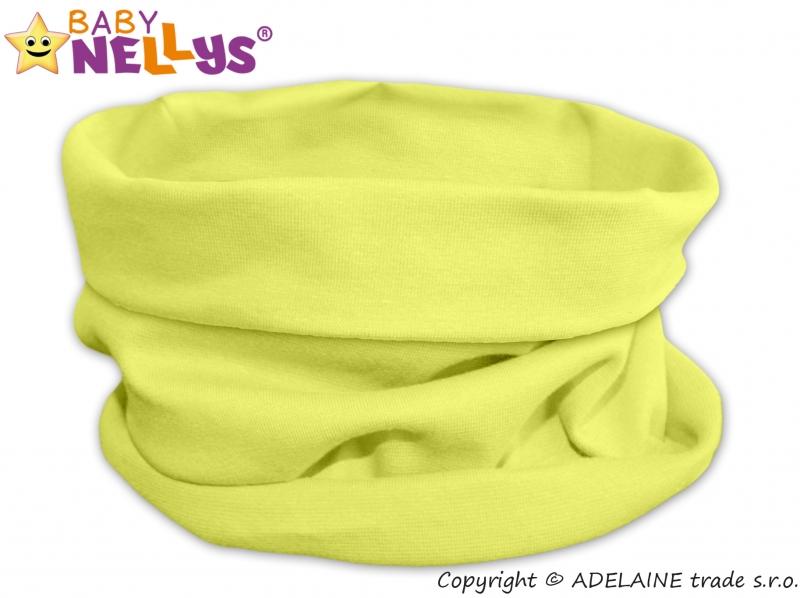 Nákrčník / komín Baby Nellys ® - lemon