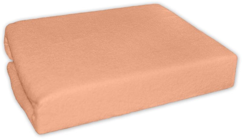 Bavlnené prestieradlo 120x60cm - Losos