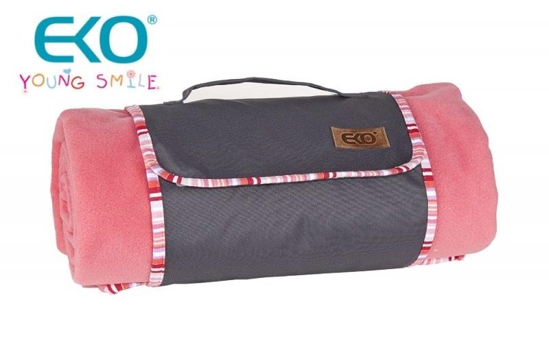 Piknik deka POLAR 150x150cm - ružová