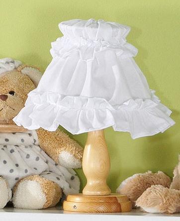 Mamo Tato Nočná lampička - Srdiečko biele