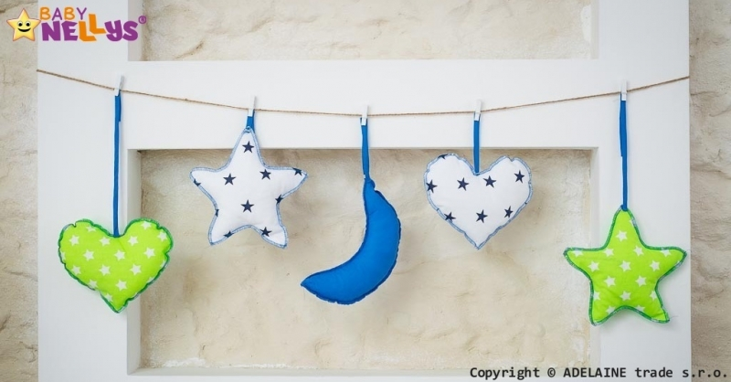 Baby Nellys Sada dekorácií Stars be Love č. 2