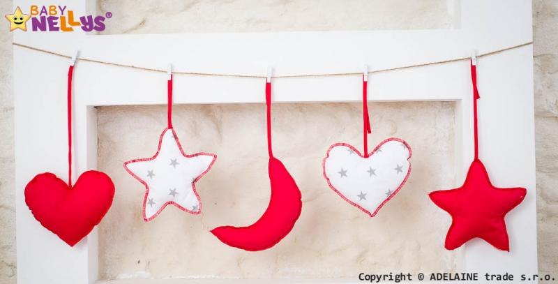 Baby Nellys Sada dekorácií Stars be Love č. 10