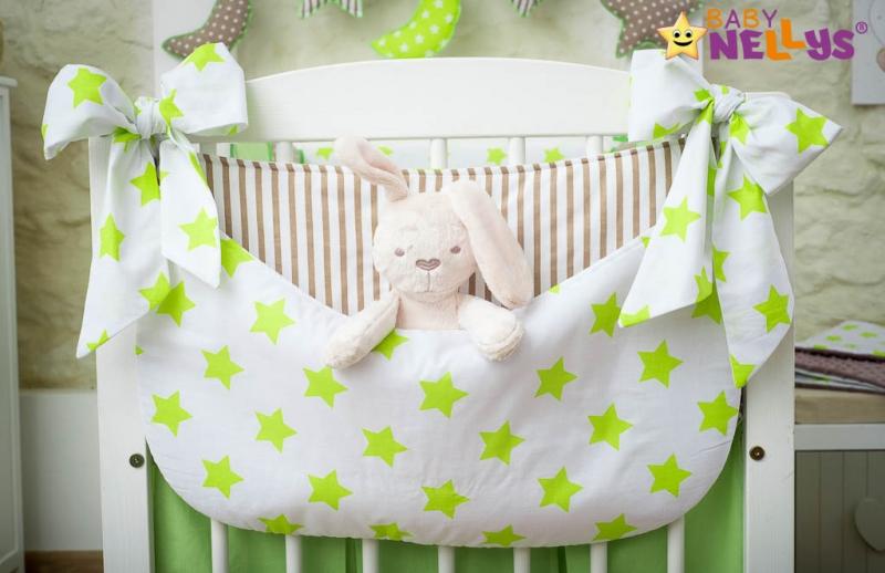 Baby Nellys Vreckár nielen na hračky Stars be Love - č. 3