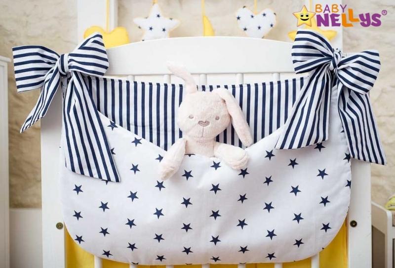 Baby Nellys Vreckár nielen na hračky Stars be Love - č. 9