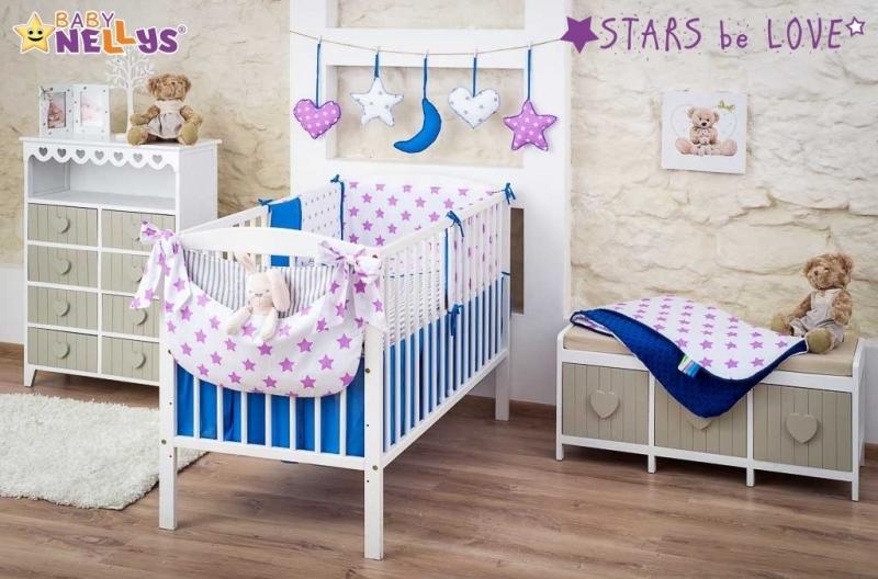 Mega sada STARS be LOVE, 120x90 cm