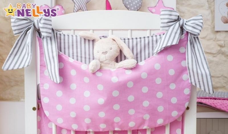 Baby Nellys Mega sada Be LOVE - Bubble ružové