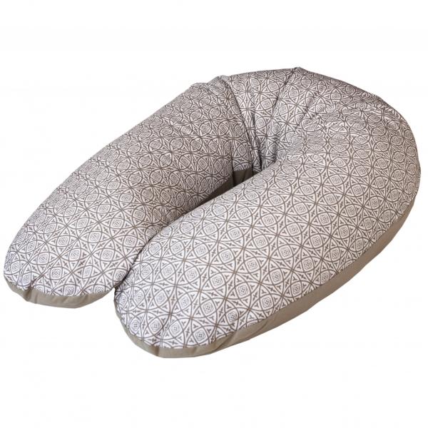 Dojčiace vankúš - relaxačné poduška Cebuška JERSEY - Ornament