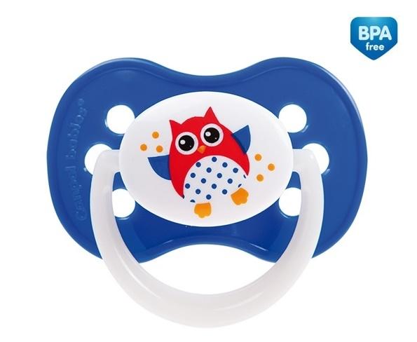 Cumlík Canpol Babies 0-6m - Malá sova modrá