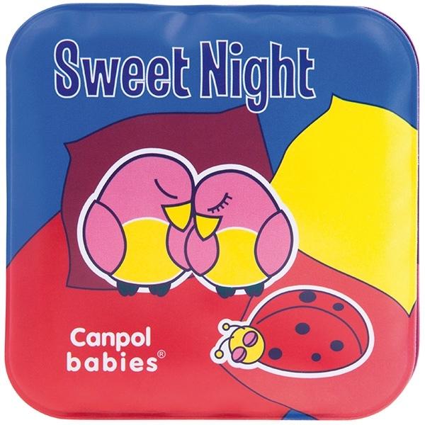 Mäkká knižka pískacia Canpol Babies - NOC a DEŇ