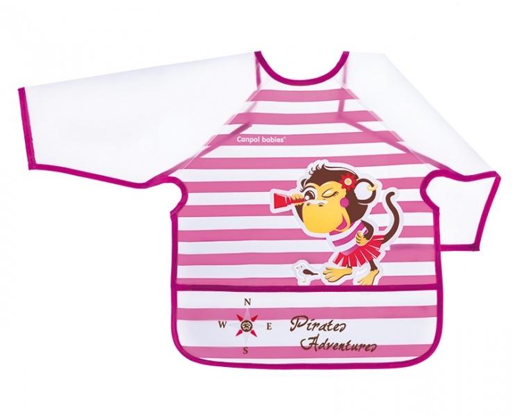 Podbradník - Zásterka 24m + Canpol Babies - opička
