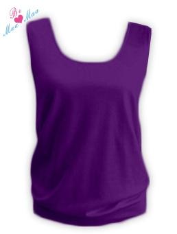 Tehotenský top LADA - fialový