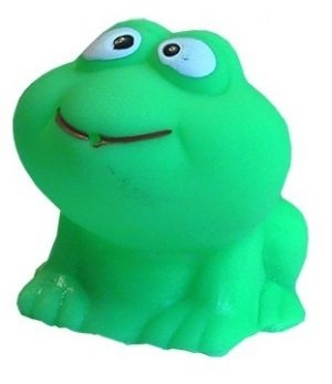 Hencz Toys Žabka do kúpeľa - zelená