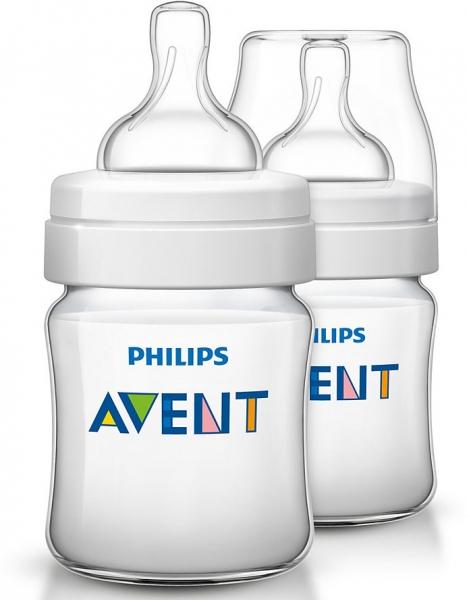 Fľaštička Avent Classic 125ml - 2ks v balení