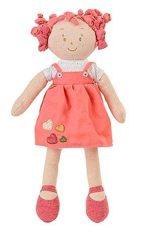 Látková bábika EKO Lily Baby Ono - ružová