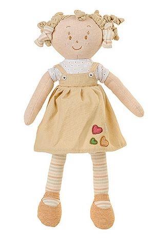 BabyOno Látková bábika EKO Lily - béžová