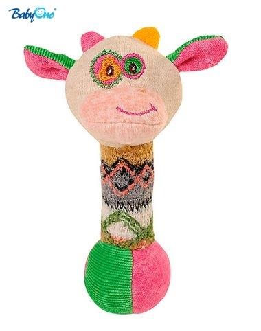 Edukačná hračka Baby Ono - pískací - KRAVIČKA malá