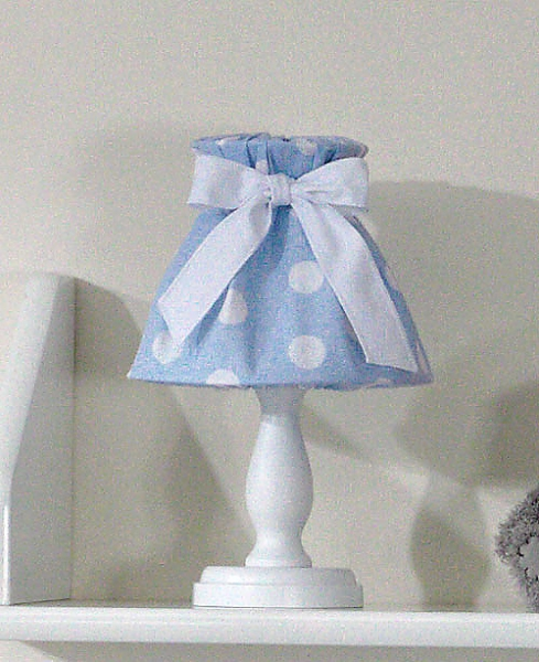 Mamo Tato Nočná lampička - retro modré