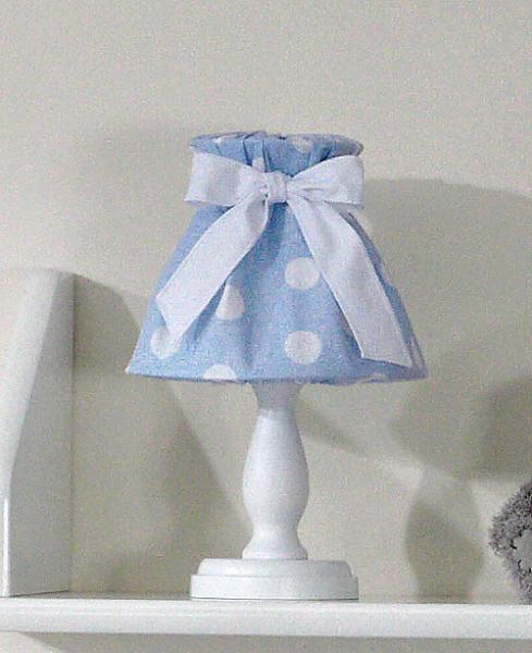 Nočná lampička - retro modré