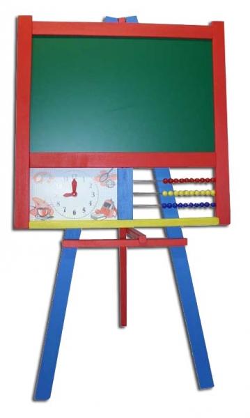 Tabuľa magnetická, školské s počítadlom