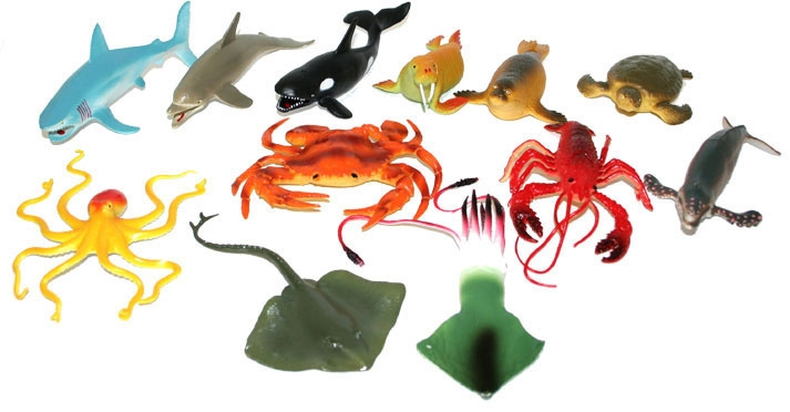 Zvieratá morská, 10 - 17 cm