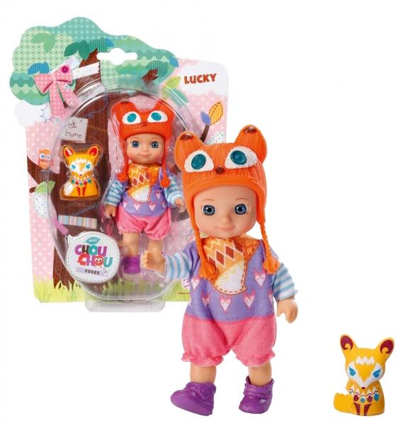 Chou Chou bábika mini Líštičky - LUCKY