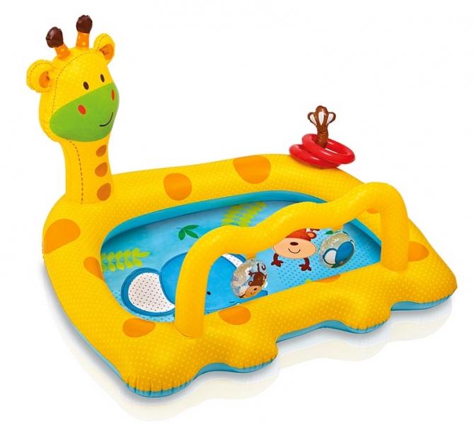 Nafukovací bazén žirafa, 112 x 92 x 72