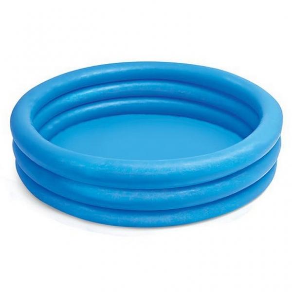 Rappa Nafukovací bazén modrý, 114x25, 3 komory