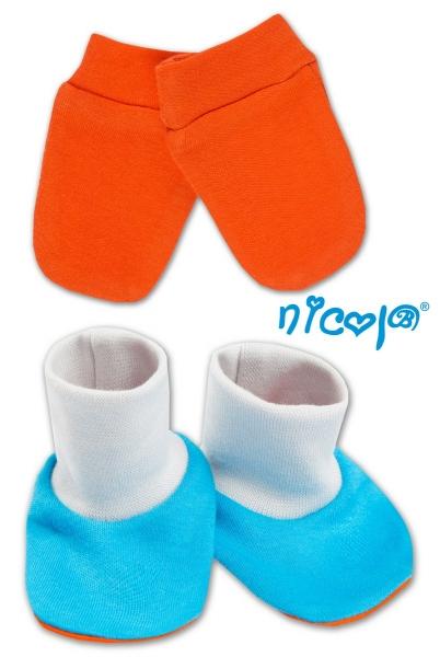 Sada - rukavičky s topánočkami NICOL - Psík