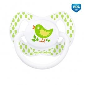 Cumlík Canpol Babies 6-18 B, SUMMER TIME vtáčik